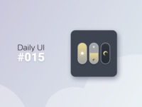 Daily Ui  015 Switch