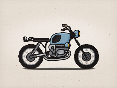 Motorbike illustration motorbike motorcycle bike