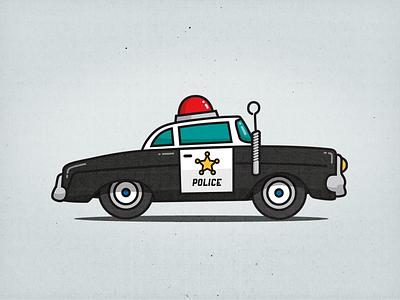Cop Car police cop car car illustration