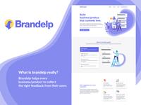 Brandelp Landing page