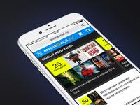 Afisha Mobile Website 2.0