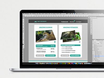 Shop Prototype schoolproject webdesign shop prototype