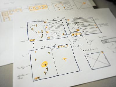 Sketch city trip app school app todo screendesign sketch project week