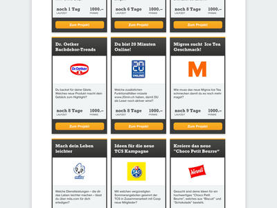 Atizo Screendesign – Draft screendesign school website concept atizo