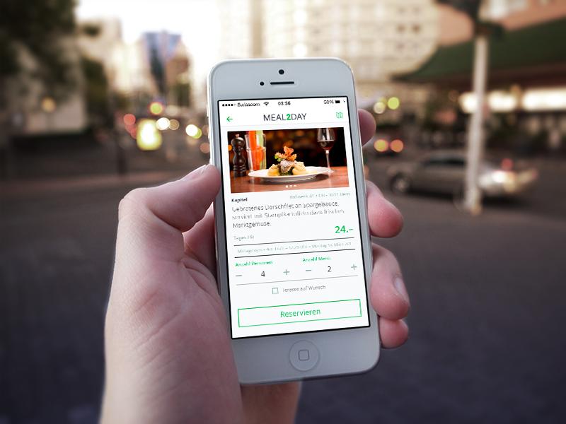Sneak peak – Restaurant App screendesign app restaurant ui sneak peak