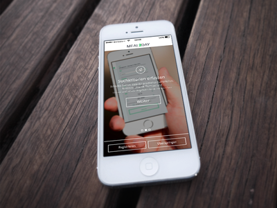Sneak peak – Restaurant App Intro screendesign app restaurant ui sneak peak