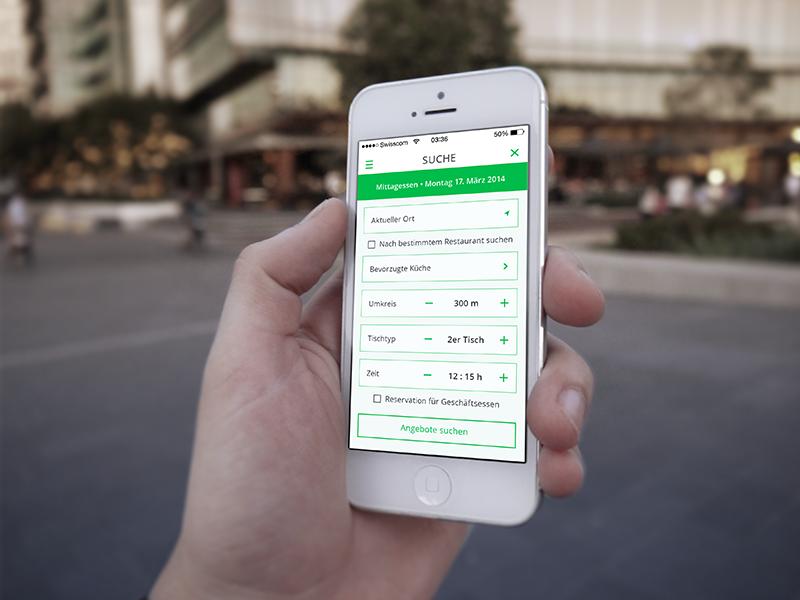 Sneak peak – Restaurant App Search screendesign app restaurant ui sneak peak