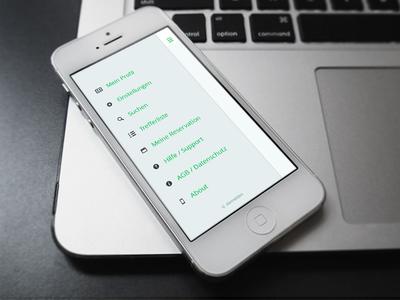 Sneak peak – Restaurant App Menu screendesign app restaurant ui sneak peak