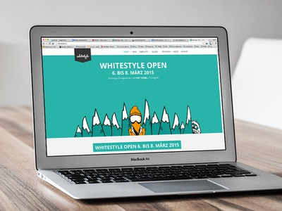 Whitestyle Open – New Website