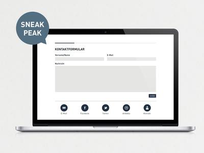 Sneak Peak Desktop, simonvonallmen.ch