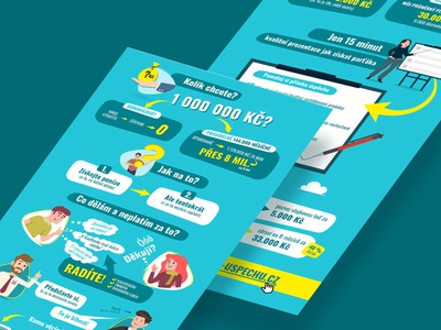Finance Infographic design flat design number elements illustration corporation finance illustrator adobe vector infographic design money blue infographic