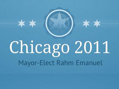 Rahm's Transition Team politics blue chicago google fonts droid serif pt sans