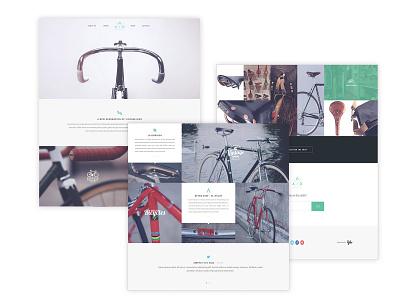 Yebo bike website design ui  ux design brand guideline website concept ui design branding design