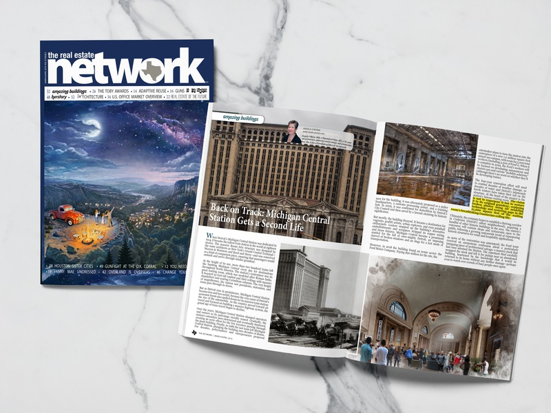 The Network design magazine cover catalog design catalogue magazin