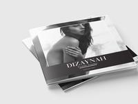 Minimalist square magazine