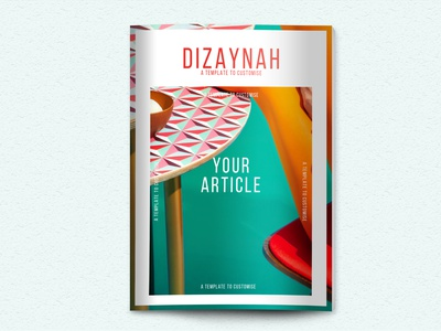 Magazine Template 32 pages etsy instant download template design brochure catalog magazine layouts indesign template indesign layout templatedesign templates