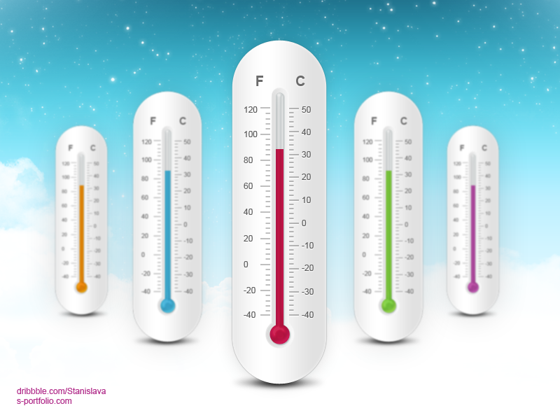Thermometer Free Psd thermometer freebies temperature free weather