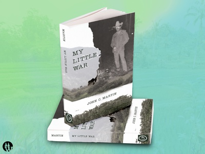"""My Little War"" Book Cover Design"
