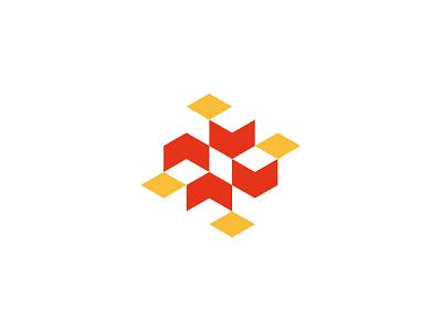 boxes / packaging branding cube symbol design logo box