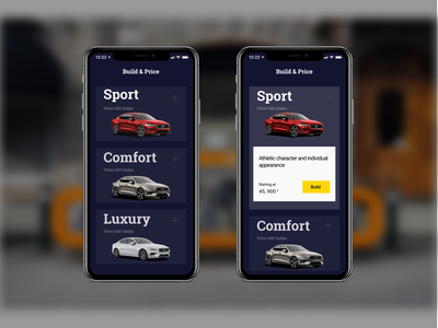 new config S60 volvo automobile ux app ui design