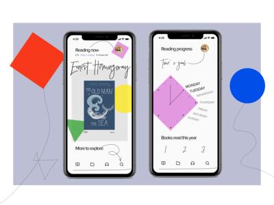 Redesign iBook app