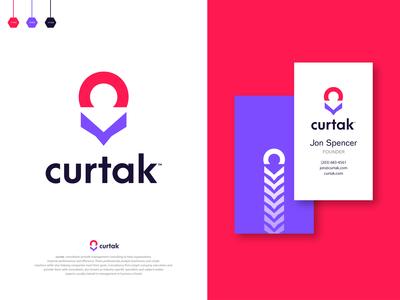 curtak - Logo Design Branding