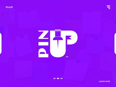 PinUP - Logo design branding.