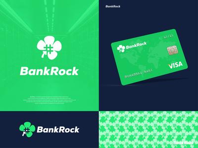 BankRock - Bank Credit Card Brand Identity Design