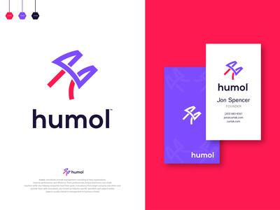 humol - Logo Design Branding.