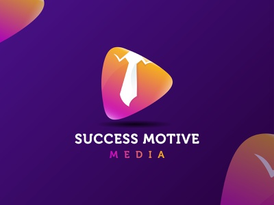 Success Motive Media - Colorful logo design branding ▷+👔 best logo graphic design illustration find job paly button job modern colorful studio media motive success typography mark logomark brandmark logo logo design vector branding design