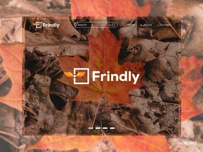 """Frindly"" Landing page (Logo)"