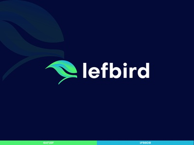 lefbird new logo design.