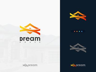 Real Estate Logo Design (Dream House)