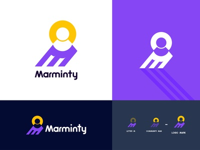 Community marketing logo design