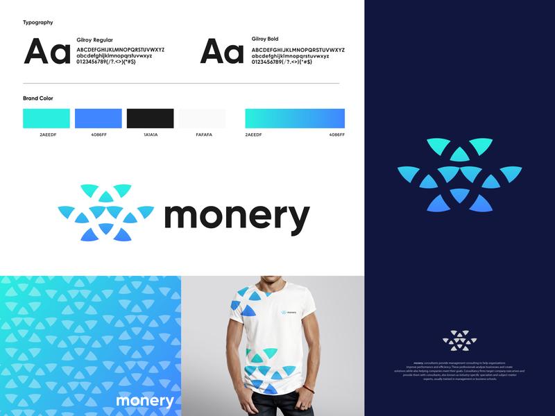 Monery - Brand Identity