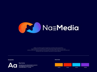 NaeMedia - Media company , Play button logo design (For Sale)