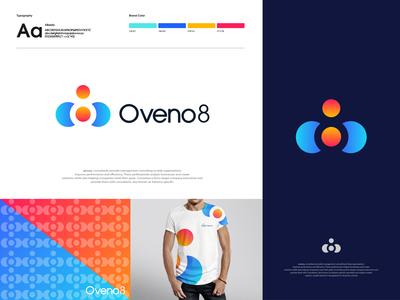 Oveno8 - Logo design branding