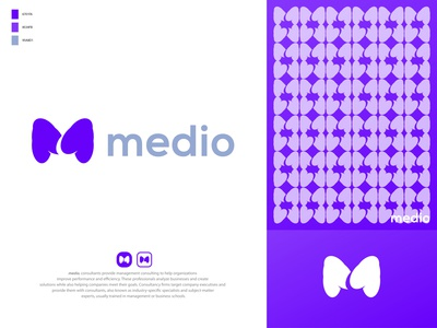 medio - Media Logo Design