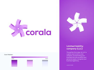 Corala - Corporate Company Logo Design Branding