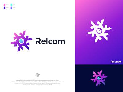RelCam - Logo Design Branding