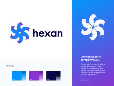 hexan - Logo Design Branding