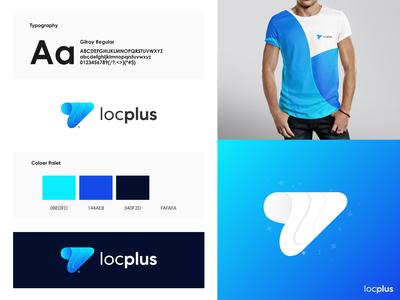 Locplus - Logo Design Branding