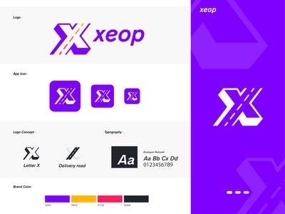 xeop - Apps Logo Design Branding