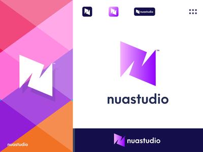 nuastudio - Studio Logo Design Branding