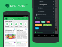 New Evernote for Android