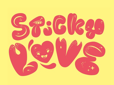 Sticky Love Typo
