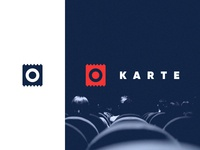 LOGO FOR KARTE − MOVIE TICKET BOOKING APP