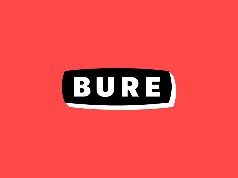 Logo for BURE goods for sale buy logo fiverr.com fiverr letters minimalistic branding design brand and identity brand design text logo design vector logotype retro design modern logo minimalist logo minimal typography branding logo