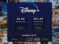 Disney + Subscribe Page