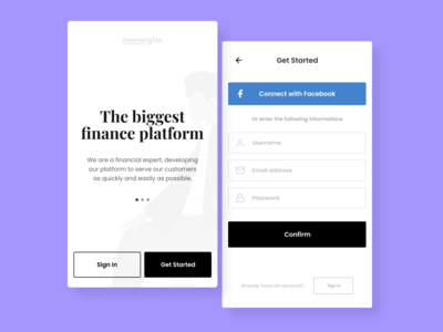 Sign Up | Daily UI - 001
